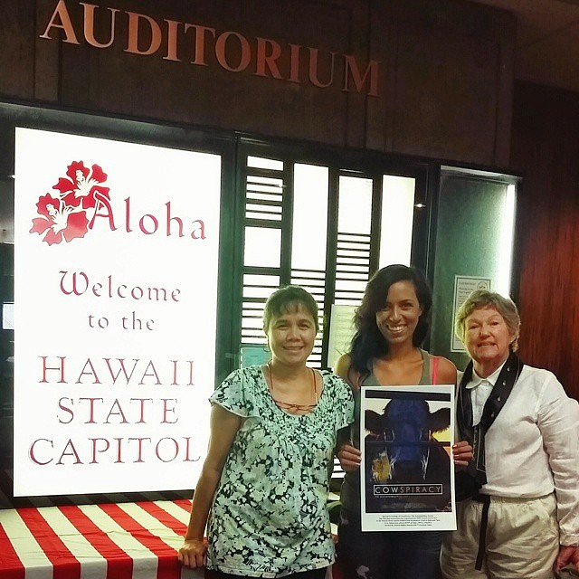 Hawaiʻi Premier of Cowspiracy: The Sustainability Secret